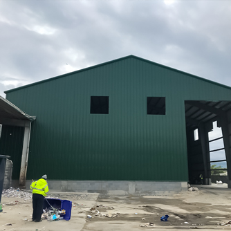 80x140x24 Waste Management in Charleston, SC